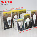2016 New Arrival Original Mi Light Dimmable 110V 220V CW/WW RGBW RGBWW E27 E14 GU10 4W 5W 6W 8W 9W Smart LED Bulb Lamp Lighting