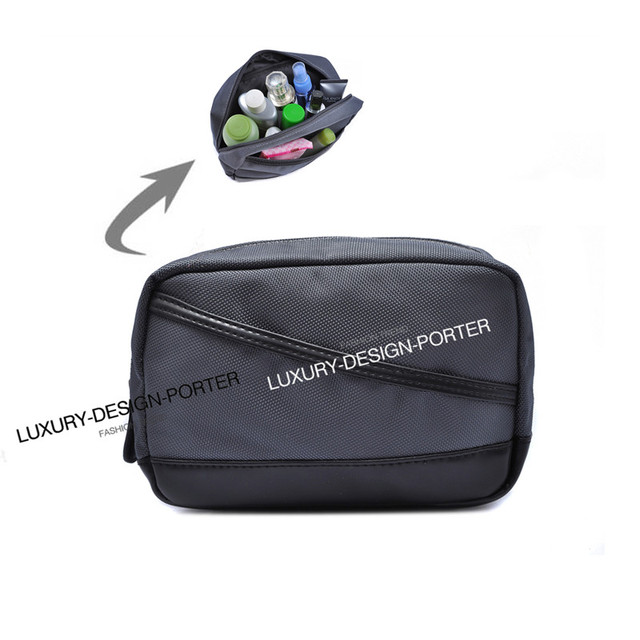 Elegant Business Men Toiletry Bag Travel Organizer Cosmetic Bag necessaries