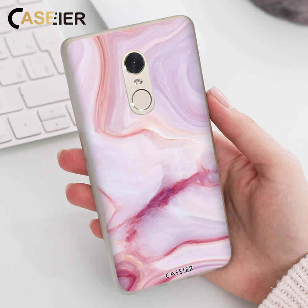 CASEIER Marble Series Phone Case For Xiaomi Redmi Note 5 6 Pro 6 5 Plus 5A 6A  Case Bag For Xiaomi pocophone F1 S2 Y2 Cover Capa