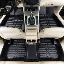 Универсальные 5 шт. автомобильные коврики для авто, Противоскользящие коврики, красные, черные автомобильные коврики, автомобильные коврики для стайлинга, автомобильные коврики