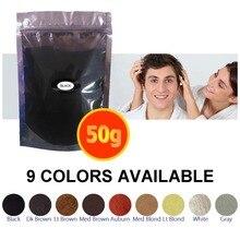 9 Colores de china mejores fibras del edificio del pelo de la fábrica venta directa con buena calidad para al por mayor también 50g * 10 unids