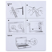 """17.3 inch Privacy Filter Screen Protector Film for 16:9 Widescreen Laptop 15 1/16 """" wide x 8 7/16 """" high (382mm*215mm)"""