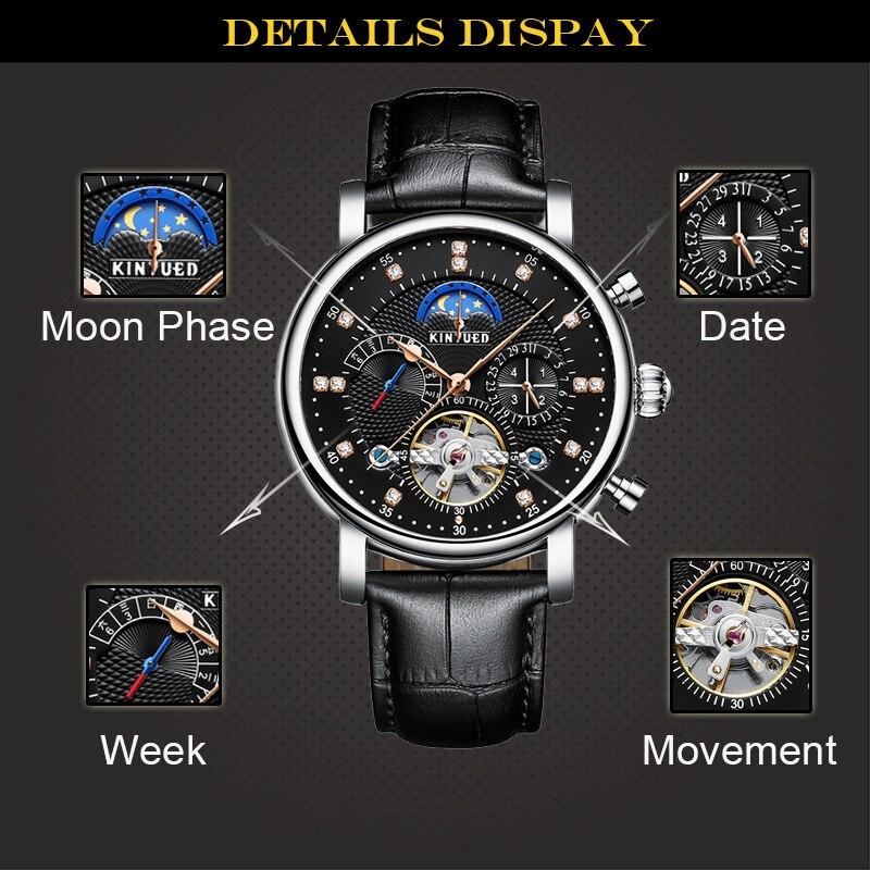 HTB13yQ XhrvK1RjSszeq6yObFXaG KINYUED Moon Phase Top Brand Mens Mechanical Watches Automatic Tourbillon Skeleton Watch Men Calendar Relogio Masculino dropship
