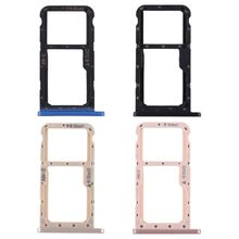 Carrier-Adapter-Replacement Secure Memory-Card-Tray Double-Slot-Holder SIM Micro Metal