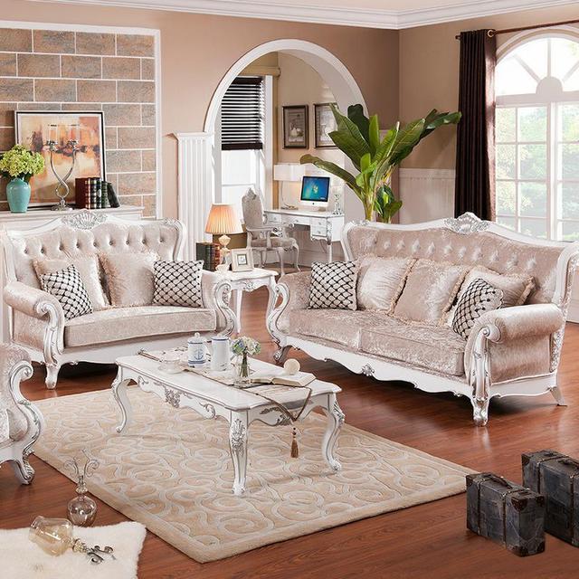 2015 nuevo estilo de la tela sof de alto grado muebles de for Muebles modernos estilo europeo