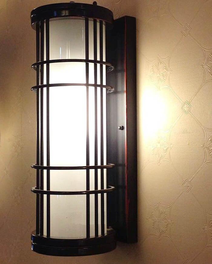 Grande Verticale lampada da parete per Esterni lampade per Balcone Cortile Dellhotel Art Deco Grande giardino illuminazione esterna Impermeabile ArandelaGrande Verticale lampada da parete per Esterni lampade per Balcone Cortile Dellhotel Art Deco Grande giardino illuminazione esterna Impermeabile Arandela