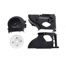 Complete Air Cooling Shroud Assembly with fan for GY6 50cc ATV Go Kart Buggy s Scooter
