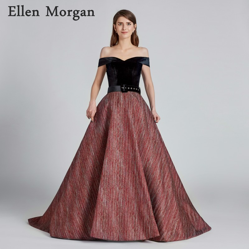 Ball Gowns Prom Dresses 2018 for Women African Black Girls Belts ...