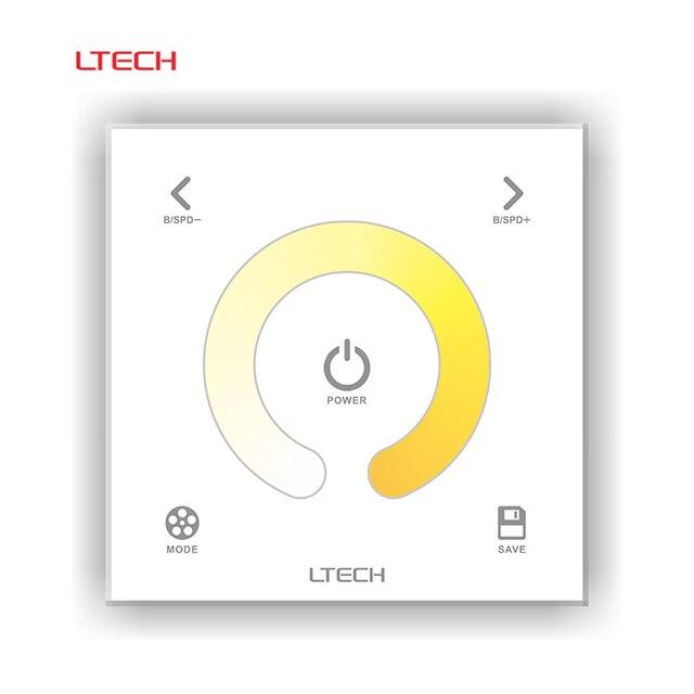 DX2 LETCH AC110V 240V 220V DMX Color Temperature Controller 86 Glass ...