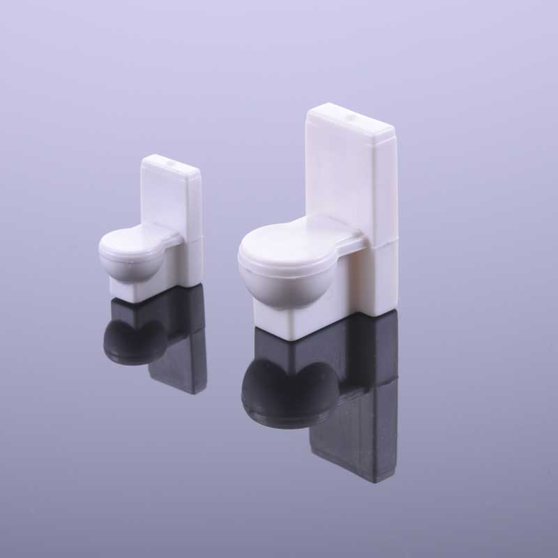 Model toilet/High back toilet/sandbox mold material/DIY craft materials/DIY toy accessories technology model parts