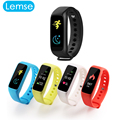 Lemse L30t Inteligente Banda Colores TFT-LCD de Pantalla Dinámica Física Pulsómetro Rastreador Bluetooth Pulsera Smartband