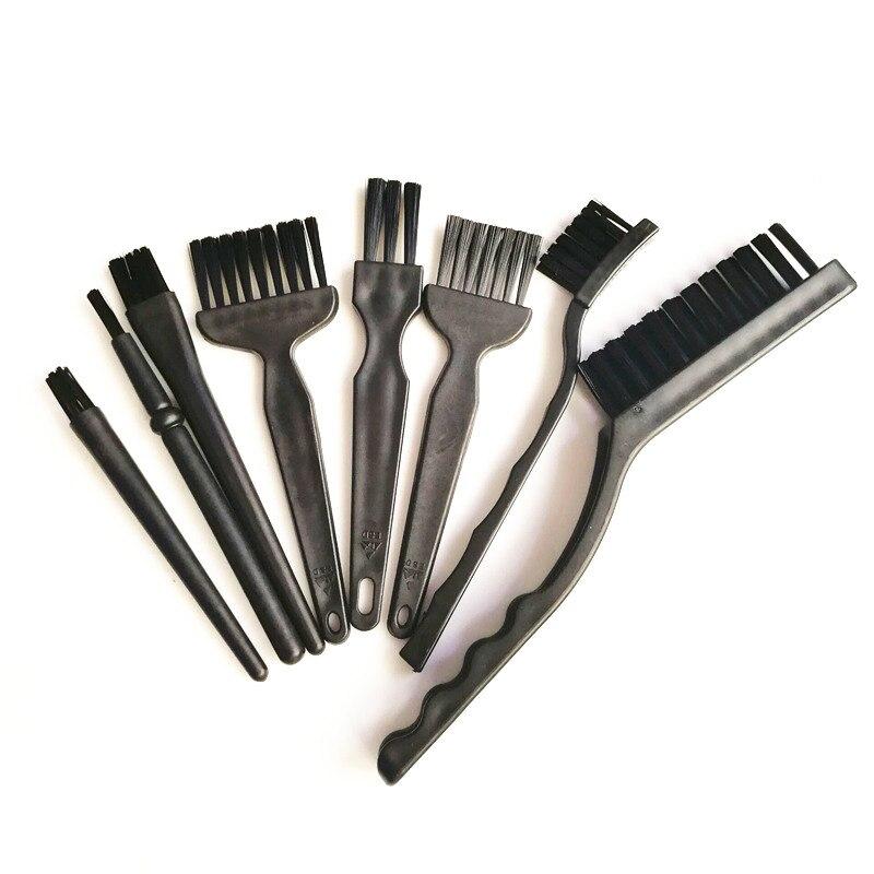 8 pcs BGA Cleaning Tool Flux Paste Brush PCB Repair Tool Circuit Board Anti Static Brush for Mobile Phone Repair 03