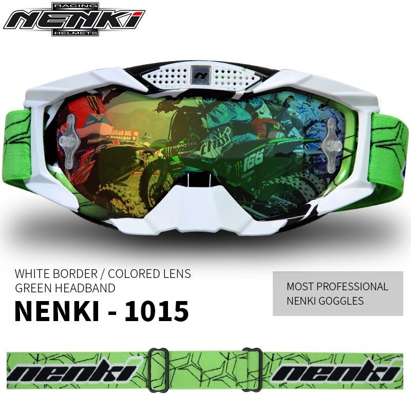 Lunettes de couleur lunettes de Motocross hors route lunettes de moto lunettes de moto lunettes de course de vélo de saleté lunettes