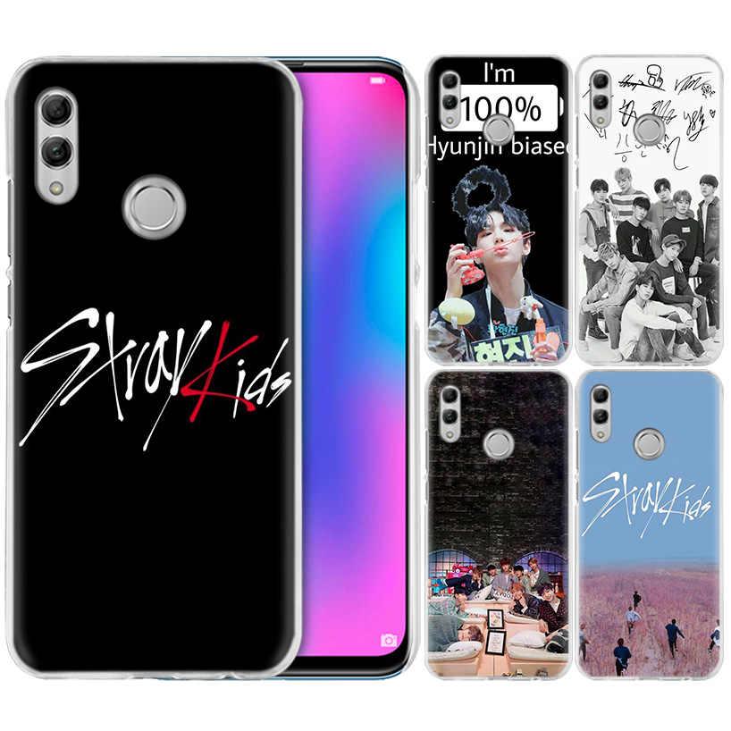 Stray Kids K Pop чехол для Huawei Honor 8X Y9 9 10 Lite Play 7C 8C 8S 8A 7S 7A Pro V20 20i Y6 Y7 Y5 2019 жесткий чехол для телефона из поликарбоната