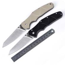 折りたたみナイフ狩猟ステンレス鋼ブレードg10ハンドル軍戦術的なナイフアウトドアキャンプハンドツールポケットサバイバルナイフ