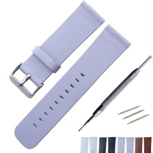 24mm Soft Genuine Leather Watchband ForDS PAM Watch Band Wrist Strap Steel Buckle Bracelet + Tool