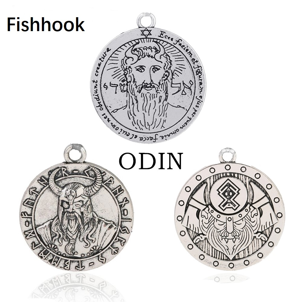Fishhook Norse Mythology Odin Satan Symbol Of Eternal Gun Vintage