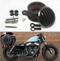 Peças da motocicleta CNC Sistema de Filtro de Admissão De Ar Mais Limpo do Filtro de Ar Para 2004-2015 Harley Sportster XL 883 XL1200