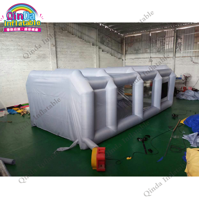 Portable Paint Booth >> Free Air Blower Cabin Painting Booth Tent Inflatable Portable Paint