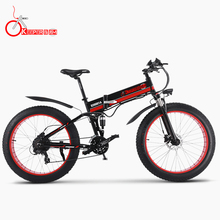 KX01 Oil brake 26 inch mountain bike lithium battery electric bicycle disc brake booster disc brakes 1000W eBike цены