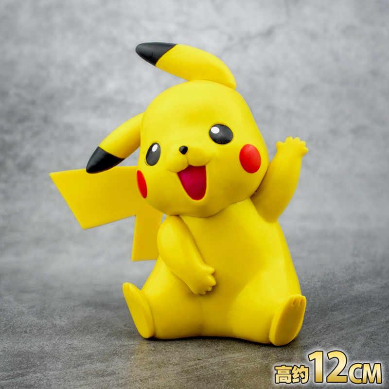 Hot Alta Qualidade Monstro de Bolso Pikachu 13 cm Detective Deadpool Pikachu Pikachu Cosplay Mãos Fazer Modelo Boneca Brinquedos Ninja Presente para