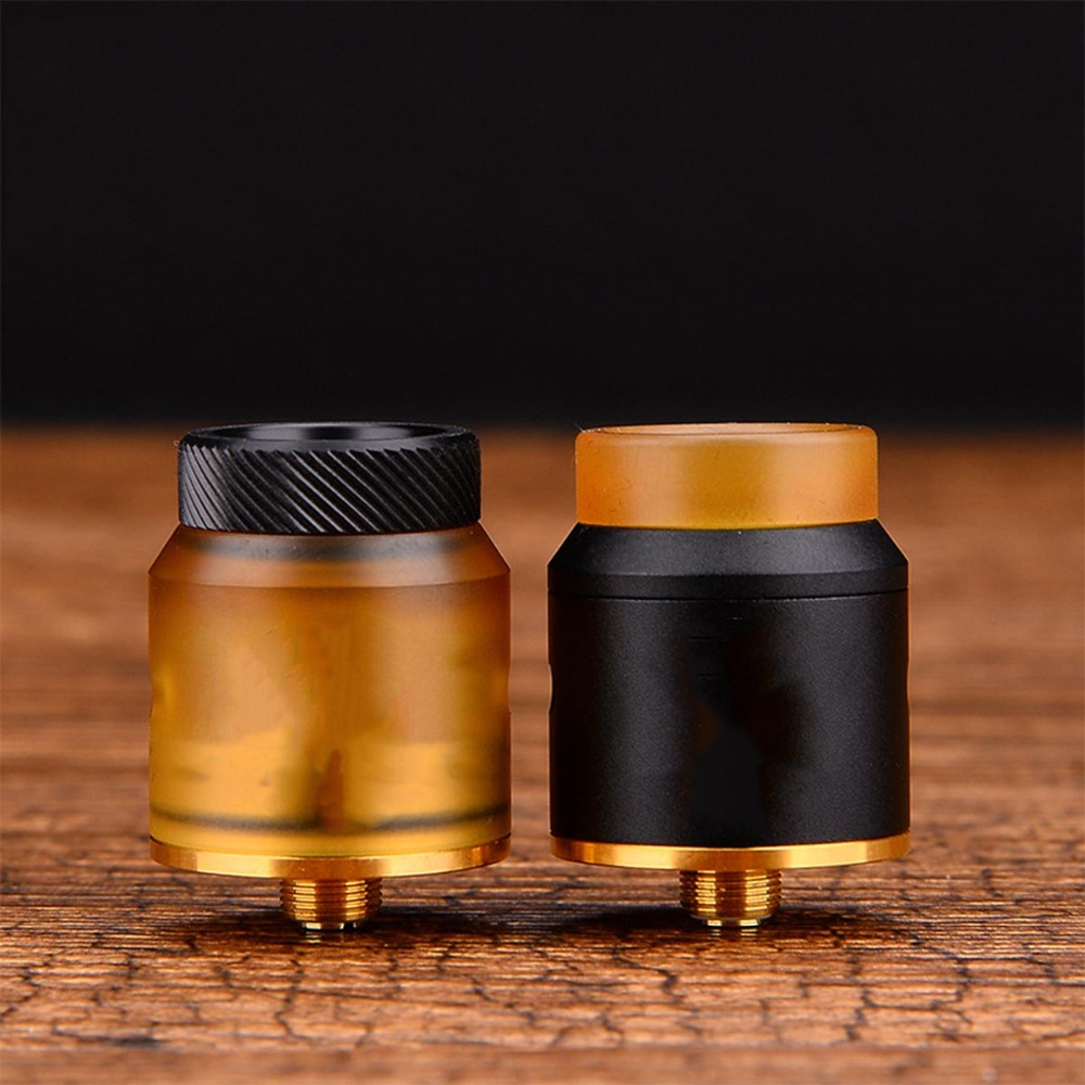24mm Elektrische Zigarette Zerstäuber Für ADVKEN Artha RDA 810 Drip Tipps Edelstahl 510 Gewinde Tropft