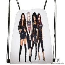 Custom Little Mix Australian Drawstring Backpack Bag Cute Daypack Kids Satchel Black Back 31x40cm 180531 04