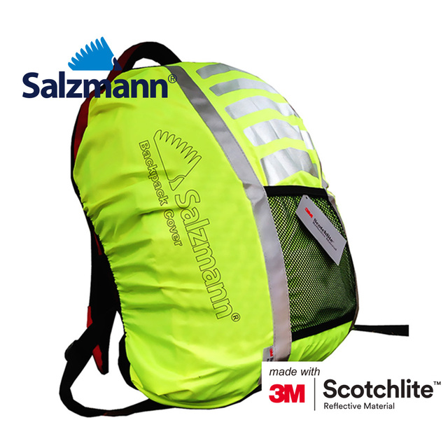 5bacd96e8566 Salzmann waterproof reflective backpack cover-in Warning Tape from ...