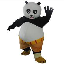 adult Kungfu Panda Mascot Costume Kung Fu Panda Mascot Costume Kungfu Panda Fancy Dress Free Shipping цена и фото