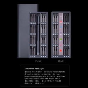 Image 2 - NEWACALOX tamir kiti 1 in 1 çok aracı manyetik tornavida seti hassas alet kiti tamir dizüstü telefon izle alaşım durumda