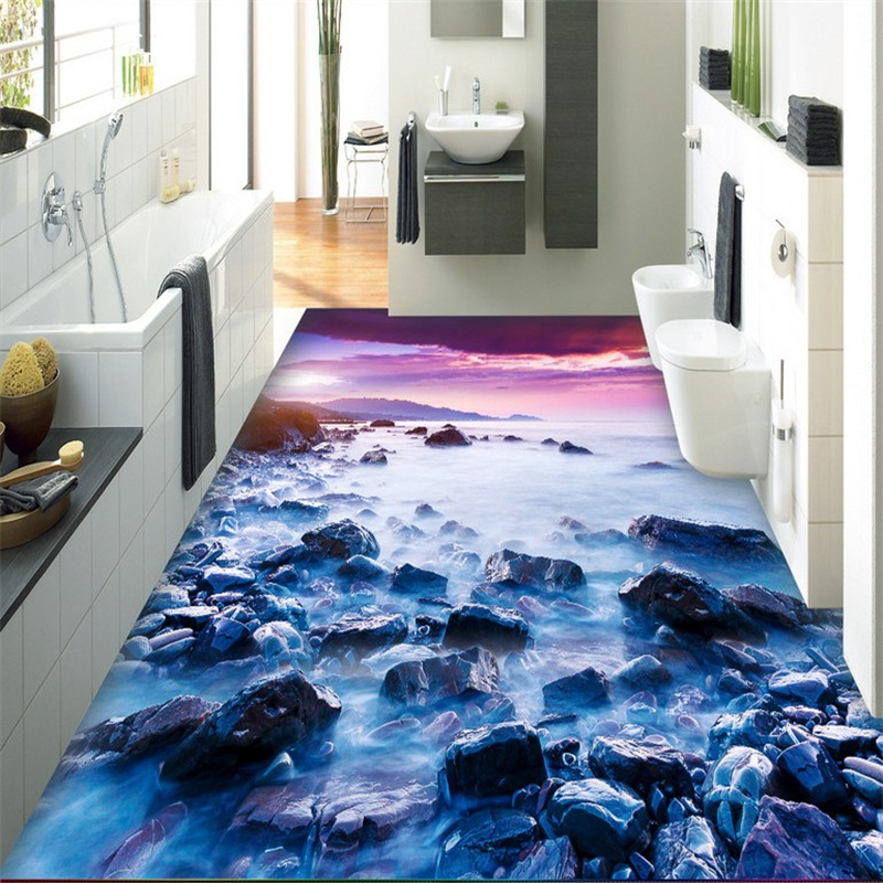 beibehang papel de parede 3d wallpaper three-dimensional painting of any seaside stone living room bathroom tiles 3d flooring comprehensive three dimensional cbct analyses of the tm joint