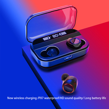 X11 TWS Wireless Bluetooth 5.0 Earphones Power Display Touch Control Stereo Cordless Sport Earbuds Headset with Charging Box