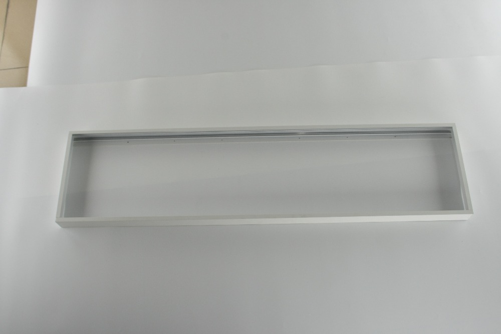 free shipping super thin design Surface mounted LED Panel Frame 300x1200X50mm aluminum material Silver and White Color Availablefree shipping super thin design Surface mounted LED Panel Frame 300x1200X50mm aluminum material Silver and White Color Available
