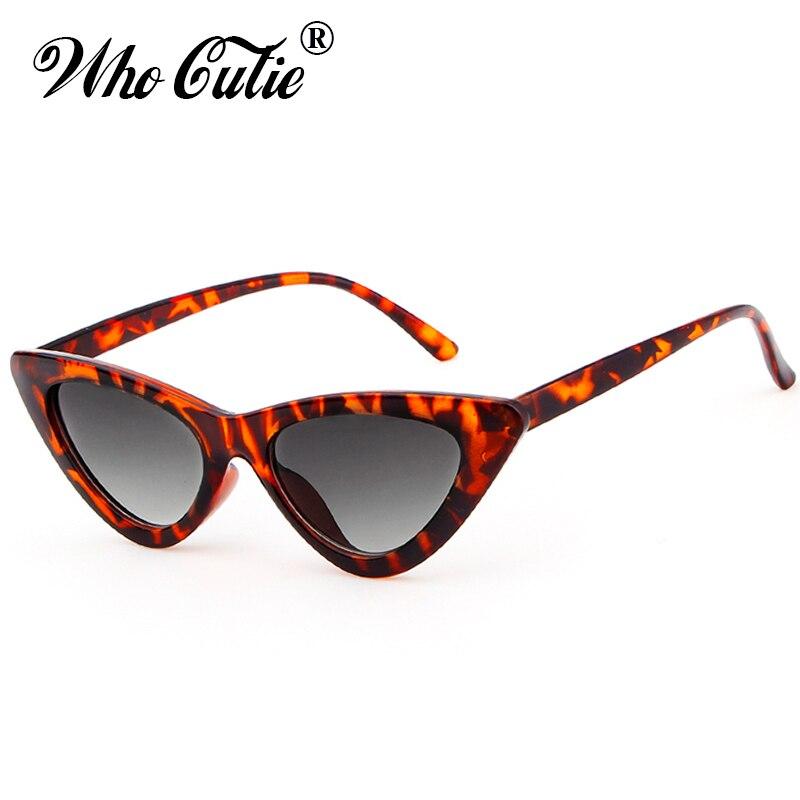 , Die Cutie 2018 Frauen Cat Eye Sonnenbrille Uv400 Kleine Enge Objektiv Vintage Schildkröte Shell Rahmen Cateye Sonnenbrille Retro Shades 509 Dinge Bequem Machen FüR Kunden