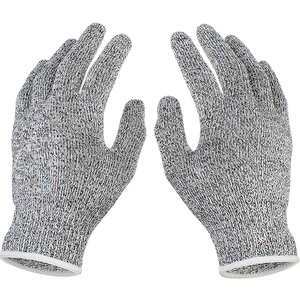 Image 3 - Anti cut Gloves Safety Cut Proof Stab Resistant Stainless Steel Wire Metal Mesh Kitchen Butcher Cut Resistant Safety Gloves