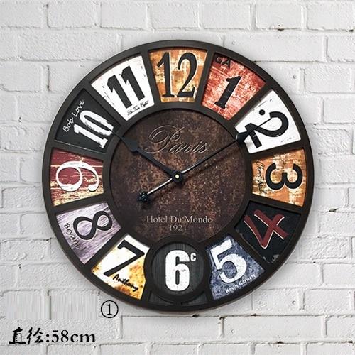 achetez en gros industrielle horloge en ligne des grossistes industrielle horloge chinois. Black Bedroom Furniture Sets. Home Design Ideas