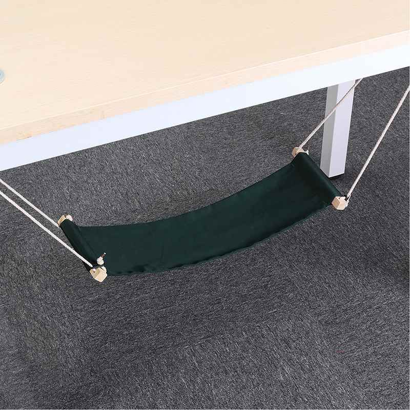 Criativo Preguiçoso Pé Hammock Artefatos Desk Estudo Resto Pé Colocar Os Pés Pé Balanço Cadeira de Escritório Pé Cuidados Ferramenta Ao Ar Livre Portátil hamak