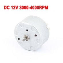 Uxcell Hot Sale 1PCS RC500 DC 12V 3000-4000RPM Electric Spindle Mini Micro Motor