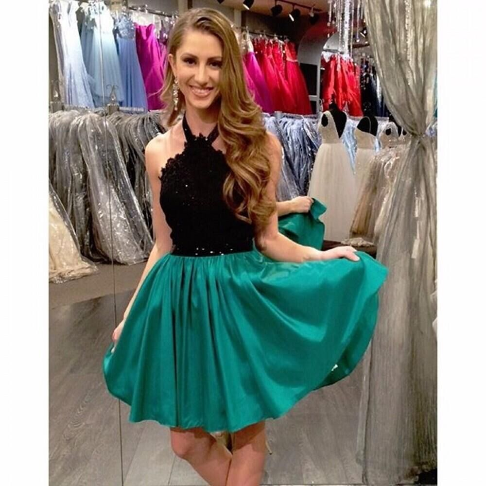 Black Girls Prom Dresses with Teal_Prom Dresses_dressesss