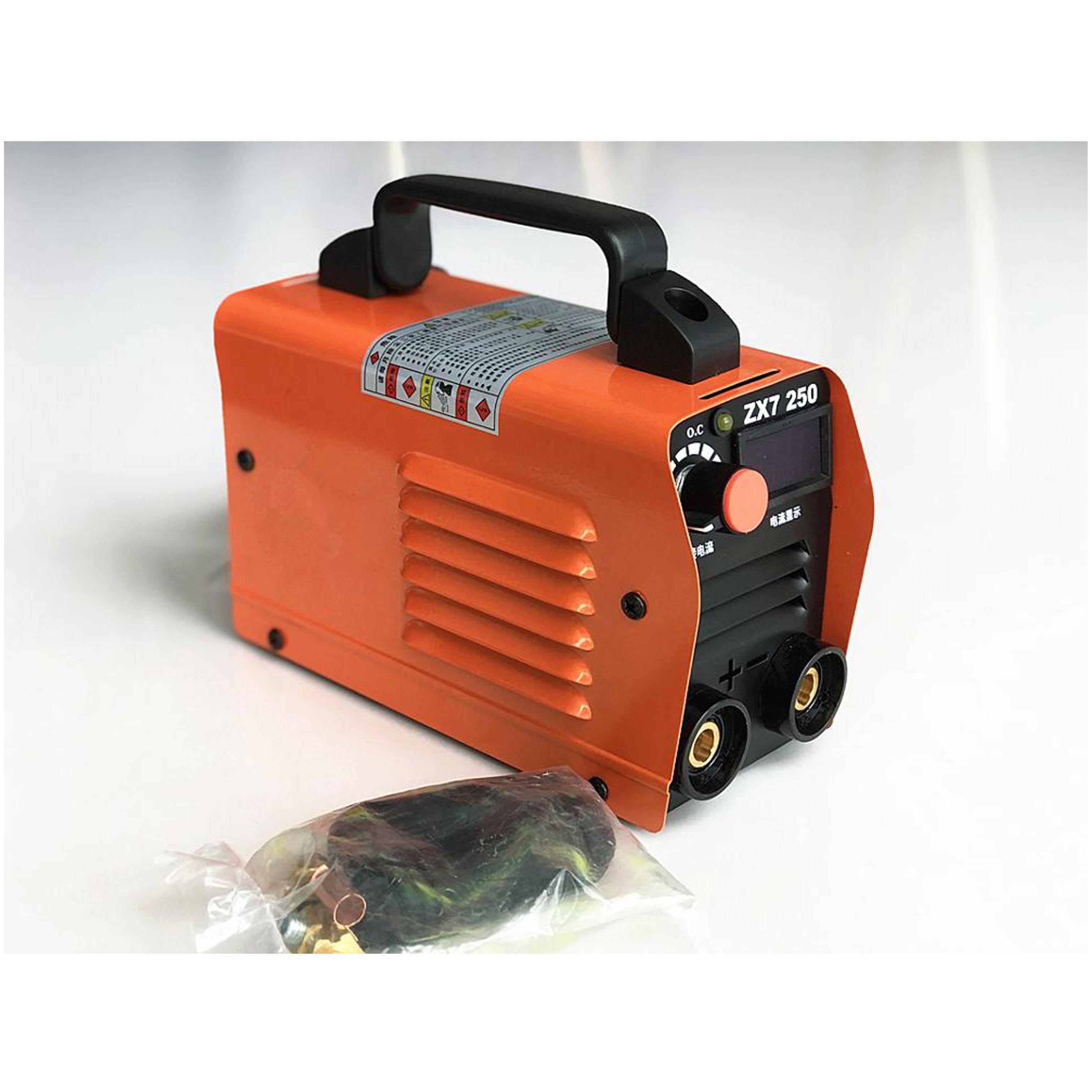 RU Lieferung Für freies 250A 110-250V Kompakte Mini MMA Schweißer Inverter ARC Schweißen Maschine Stick Schweißer