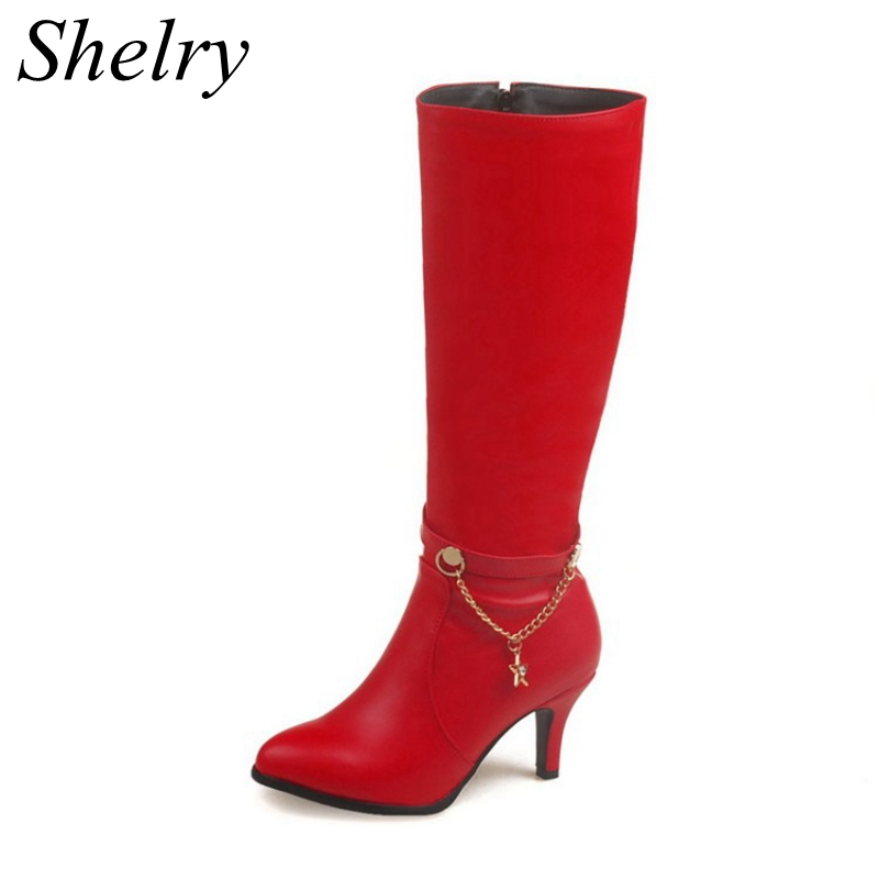 Online Get Cheap Women Red Boots -Aliexpress.com | Alibaba Group