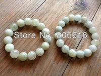 (Plz scegliere il formato) Fine Jewelry A Grade 12mm Naturale Pietra Gioielli Braccialetto Perline