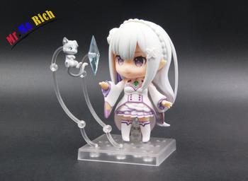 Animé Re Zero Start Life in another world Emilia 751 # Linda figura de acción de PVC Colección de resina modelo de juguete para regalo