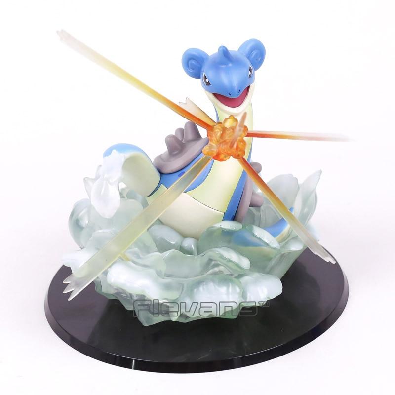 Anime Cartoon Lapras Fighting ver. PVC Figure Collectible Model Toy 15cm anime prison school meiko shiraki sexy pvc figure collectible model toy 15cm 3 colors