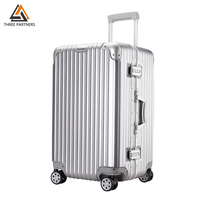 Aluminum Frame Trolley Luggage TSA Customs Lock Hardside Rolling Spinner Luggage Carry On Suitcase Hard Shell Travel Box NEW
