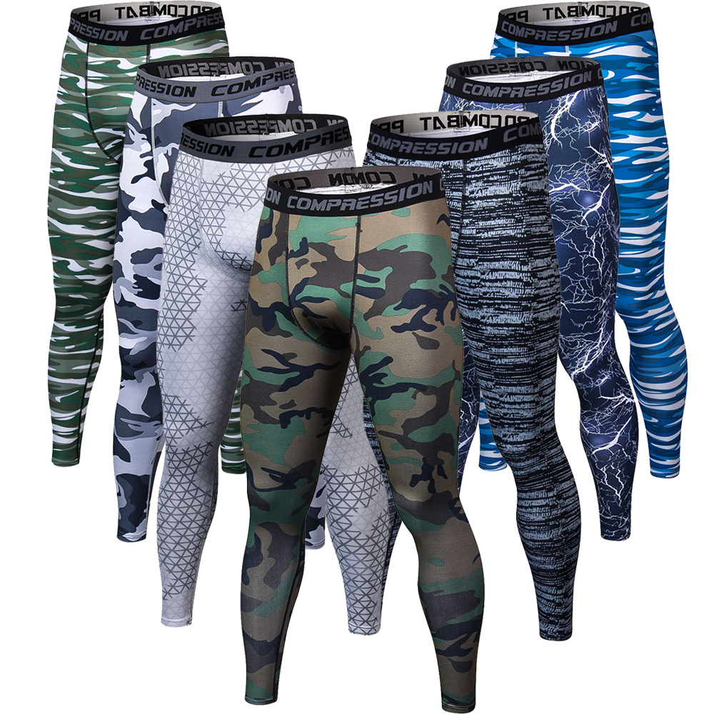 3D printing Camouflage Pants Men Fitness Mens Joggers Compression Pants Male Trousers Bodybuilding Tights Leggings For men 1
