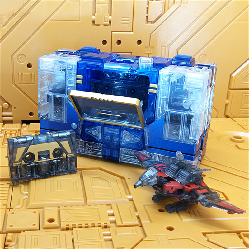 THF 1T Transparent Transformation Toys KBB Action Figure KO Robot MP13 Japanese Master Deformation with Two