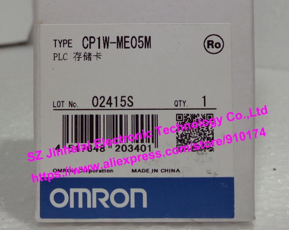 New and original CP1W-ME05M  OMRON PLC Memory card new and original e3x da11 s omron optical fiber amplifier photoelectric switch 12 24vdc