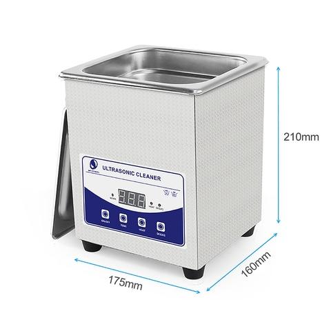SKYMEN Digital Ultrasonic Cleaner Bath 2L 60W 110/220V ultrasonic degas Lahore
