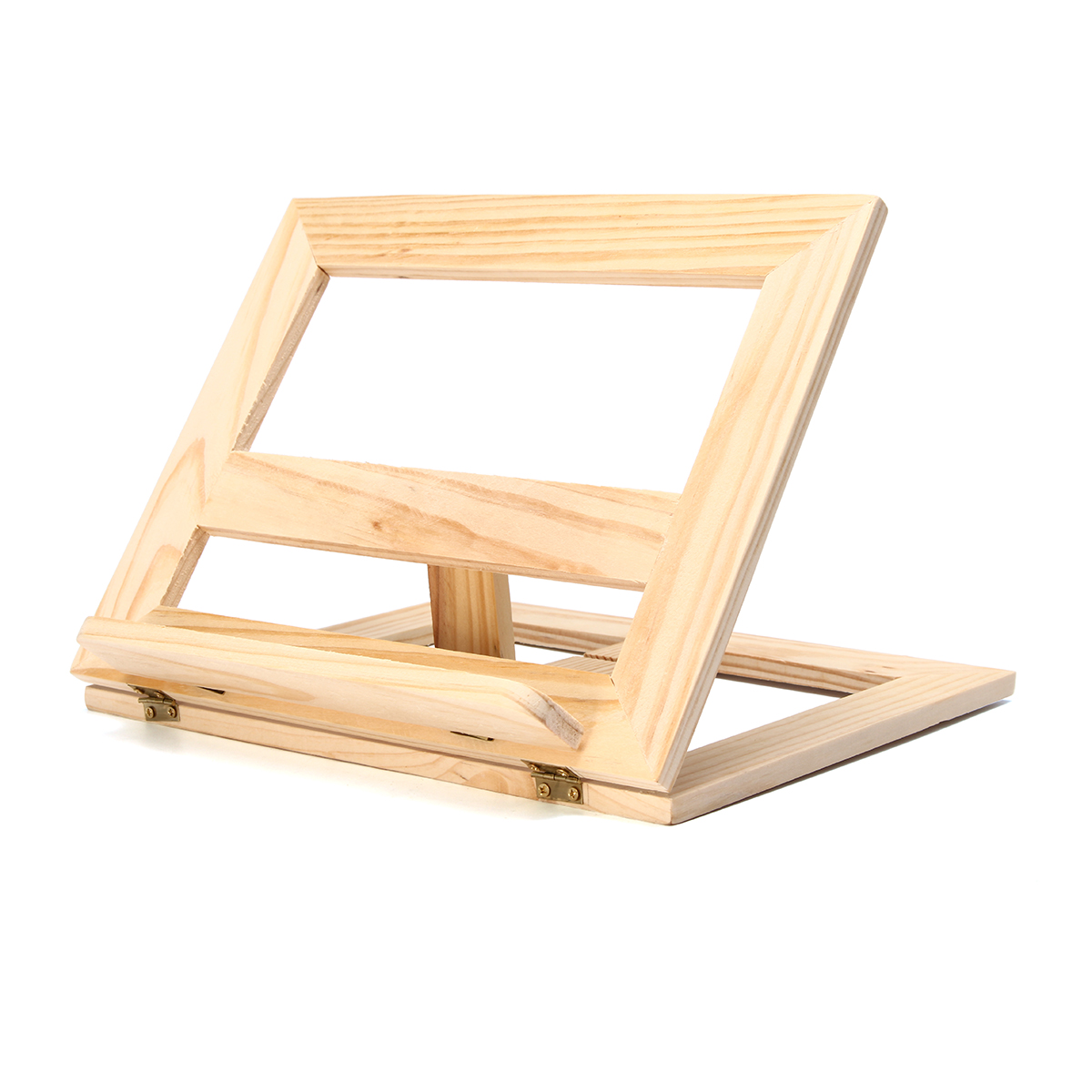 Durable Wooden Easel Foldable Display Stand Wooden Frame Reading ...